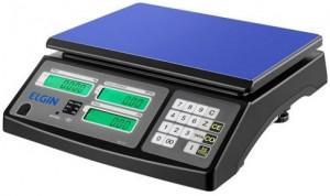 Balança Computadorizada de Mesa, Capacidade de 15kg – Elgin