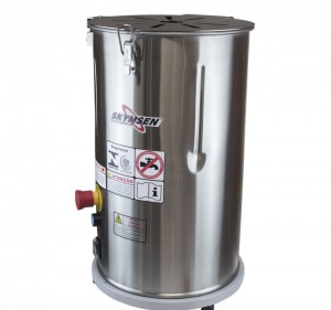 DB-06-N - DESCASCADOR INOX, 6 kg